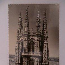 Postales: POSTAL; BURGOS, 50 CATEDRAL CRUCERO, 1956 CIRCULADA (VER FOTO).. Lote 31150383