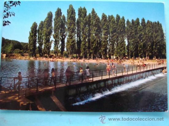 Postal de villarcayo burgos a o 1971 piscina comprar for Piscinas naturales castilla y leon