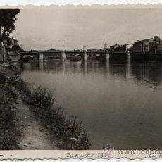 Postales: BONITA POSTAL - MIRANDA DE EBRO (BURGOS) - PUENTE DE CARLOS III - ED. ARRIBAS . Lote 31178622