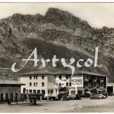 Postales: BONITA POSTAL - PANCORBO (BURGOS) - HOTEL PANCORBO - AMBIENTADO COCHES DE EPOCA. Lote 31186239
