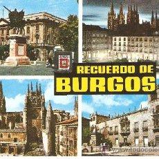 Postales: POSTAL DE BURGOS . Lote 31331652