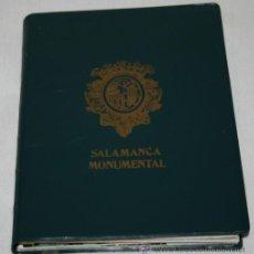Postales: 20 POSTALES DE SALAMANCA EN SU CARTERA - SALAMANCA MONUMENTAL. Lote 31406511