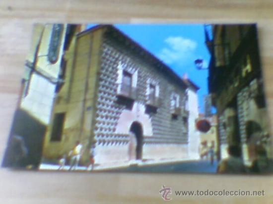 POSTAL CASA DE LOS PICOS SEGOVIA ED ARRIBAS SIN CIRCULAR Nº72(B21) (Postales - España - Castilla y León Moderna (desde 1940))