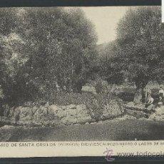 Postales: BRIVIESCA - SANTUARIO DE SANTA CASILDA - 13- POZO NEGRO O LAGOS DE SAN VICENTE - (10.154). Lote 31852260