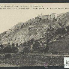 Postales: BRIVIESCA - SANTUARIO DE SANTA CASILDA - 12- VISTA GENERAL TOMADA DESDE LOS LAGOS DE SAN V.-(10.155). Lote 31852284