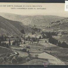 Postales: BRIVIESCA - SANTUARIO DE SANTA CASILDA - 10 -VISTA PANORAMICA DESDE EL SANTUARIO -(10.157). Lote 31852322