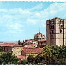 Postales: TARJETA POSTAL 1962 -USA - ZAMORA / CATEDRAL / CASTILLO - GARRABELLA 1 - RELIGIÓN. Lote 31899648