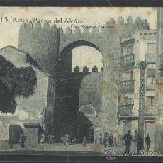 Postales: AVILA - 15- PLAZA DEL ALCAZAR -FOT. MAYORAL ENCINAR - GRAFOS - (10.451). Lote 31908440