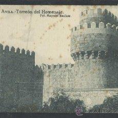 Postales: AVILA - 17- TORREON DEL HOMENAJE -FOT. MAYORAL ENCINAR - GRAFOS - (10.452). Lote 31908451