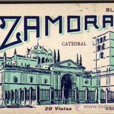 Postales: ZAMORA. BLOCK Nº 1. 20 VISTAS. L. ROISIN. CATEDRAL. COMPLETO.. Lote 31984554