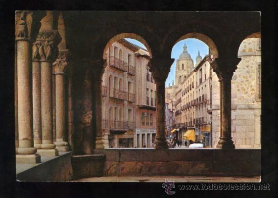 SEGOVIA. *CLAUSTRO...* ED. G. GARRABELLA - S.R.C. Nº 14. NUEVA. (Postales - España - Castilla y León Moderna (desde 1940))