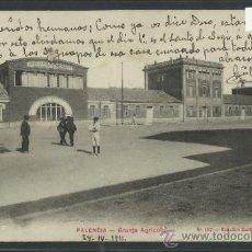 Postales: PALENCIA - GRANJA AGRICOLA - 107 - ED. GUILLEN - VALLADOLID - (10.511). Lote 32046123