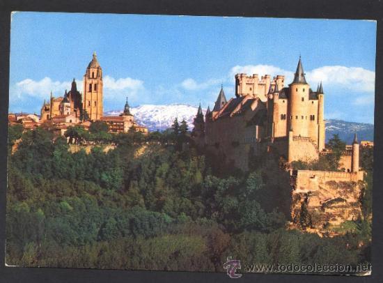 SEGOVIA. *ALCAZAR...* ED. MANIPEL Nº 36. CIRCULADA (Postales - España - Castilla y León Moderna (desde 1940))