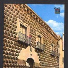 Postales: SEGOVIA. *CASA DE LOS PICOS* ED. PERGAMINO Nº 4189. ESCRITA. Lote 32058088