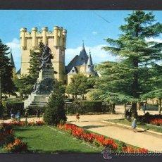 Postales: SEGOVIA. *PARQUE DEL ALCAZAR* ED. M. ROYUELA - ALARDE Nº 14. CIRCULADA 1966.. Lote 32060158