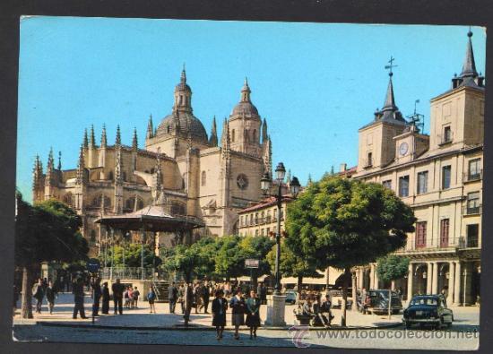 SEGOVIA. *CATEDRAL...* ED. M. ROYUELA - ALARDE Nº 13. CIRCULADA 1965. (Postales - España - Castilla y León Moderna (desde 1940))
