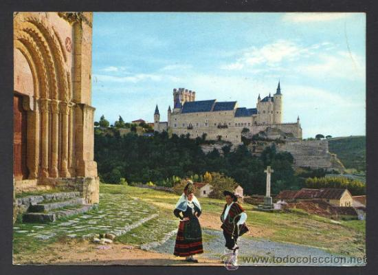 SEGOVIA. *PORTADA ROMÁNICA...* ED. M. ROYUELA - ALARDE Nº 11. CIRCULADA. (Postales - España - Castilla y León Moderna (desde 1940))
