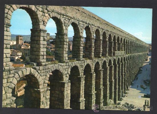 SEGOVIA. *ACUEDUCTO...* ED. M. ROYUELA - ALARDE Nº 3. NUEVA. (Postales - España - Castilla y León Moderna (desde 1940))