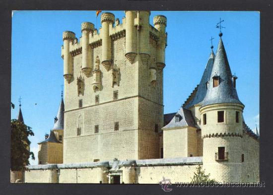SEGOVIA. *ALCAZAR...* ED. M. ROYUELA - ALARDE Nº 10. CIRCULADA (Postales - España - Castilla y León Moderna (desde 1940))