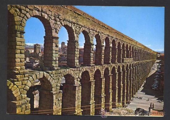 SEGOVIA. *ACUEDUCTO...* ED. M. ROYUELA - ALARDE Nº 5. CIRCULADA 1970. (Postales - España - Castilla y León Moderna (desde 1940))