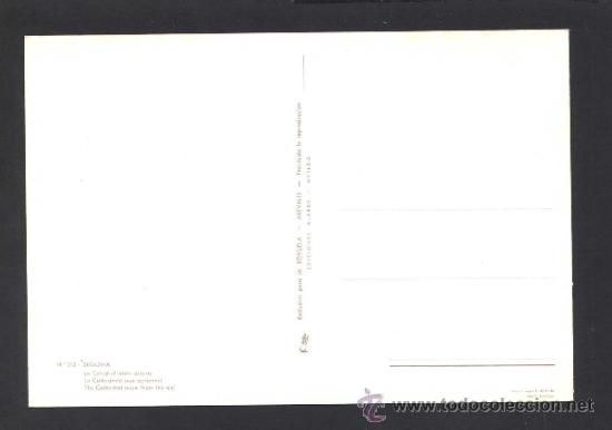Postales: Segovia. *La Catedral...* Ed. M. Royuela - Alarde nº 312. Nueva. - Foto 2 - 32060086