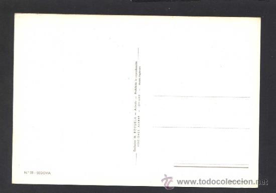 Postales: Segovia. Ed. M. Royuela - Alarde nº 20. Nueva. - Foto 2 - 32060290