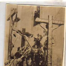 Postales: POSTAL FOTOGRÁFICA. SEMANA SANTA ZAMORA. COLECCION J. GONZALEZ. SERIE B. 17 LANZADA LONGINOS ALVAREZ. Lote 32052351