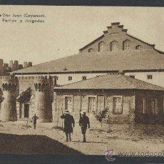 Postales: VALENCIA DE DON JUAN - COYANZA - 10 - CARCEL DEL PARTIDO Y JUZGADOS - (10.593). Lote 32114695