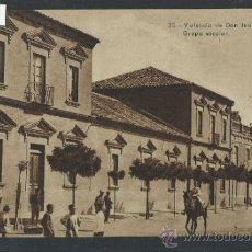 Postales: VALENCIA DE DON JUAN - COYANZA - GRUPO ESCOLAR - (10.596). Lote 32114760