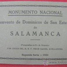 Postales: 15 POSTALES MONUMENTO NACIONAL CONVENTO DE DOMINICOS DE SAN ESTEBAN DE SALAMANCA SEGUNDA SERIE 1923. Lote 32394145