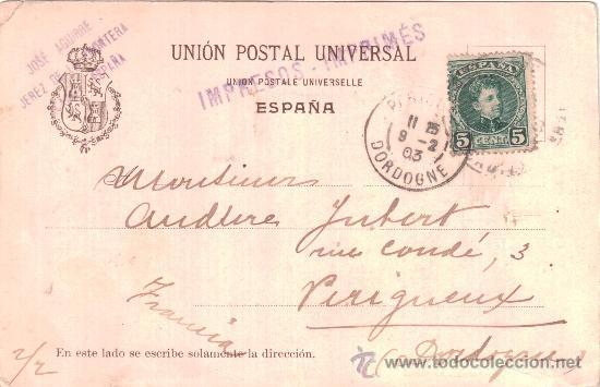Postales: Reverso - Foto 2 - 32983161