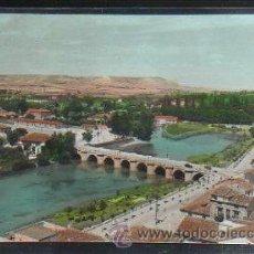 Postales: TARJETA POSTAL DE PALENCIA - RIO CARRION Y PUENTES. 33. EDICIONES SICILIA. Lote 33696436