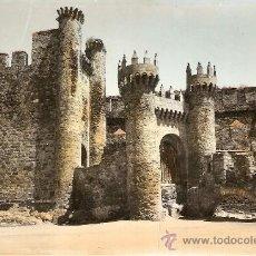 Cartes Postales: PONFERRADA Nº 11 CASTILLO DE LAS TO. - EDICIONES PARIS - CIRCULADA. Lote 33999902