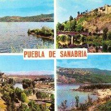 Postales: PUEBLA DE SANABRIA (ZAMORA), VARIAS VISTAS - EDICIONES PARIS - SIN CIRCULAR. Lote 34123344