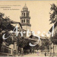 Postales: RARA POSTAL - PONFERRADA (LEON) - CALLE DE LA FORTALEZA - AMBIENTADA - COLECCIÓN ROMERO. PONFERRADA . Lote 34163683