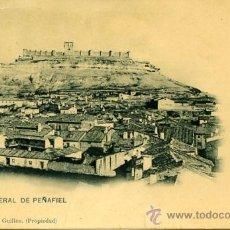 Postales: POSTAL ANTIGUA PEÑAFIEL VALLADOLID VISTA GENERAL SIN CIRCULAR COLECCIÓN GUILLEN. Lote 104190408