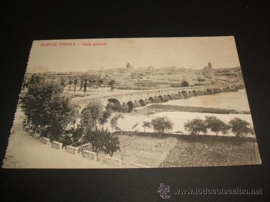 ALBA DE TORMES SALAMANCA VISTA GENERAL (Postales - España - Castilla y León Antigua (hasta 1939))