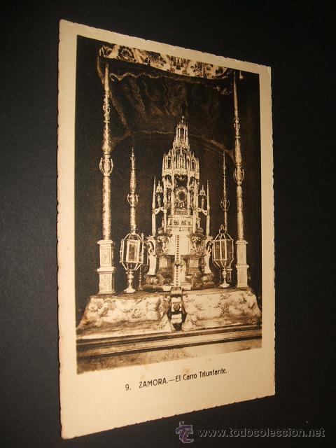 ZAMORA EL CARRO TRIUNFANTE (Postales - España - Castilla y León Antigua (hasta 1939))