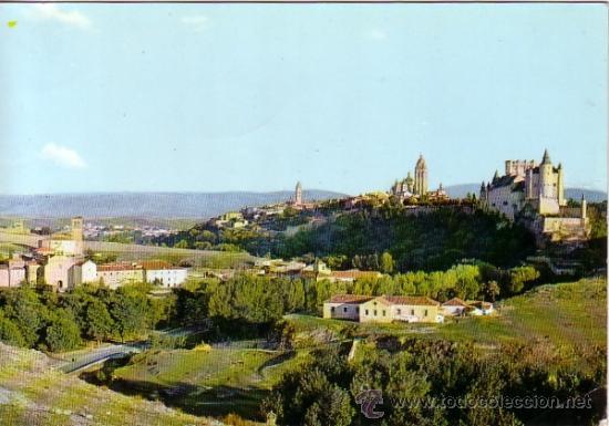 SEGOVIA - VISTA PARCIAL - M. ROYUELA 1963 (Postales - España - Castilla y León Moderna (desde 1940))