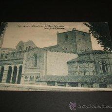 Postales: AVILA BASILICA DE SAN VICENTE. Lote 35219377