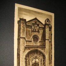 Postales: AVILA PORTADA DEL CONVENTO DE SANTO TOMAS. Lote 35219385