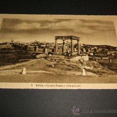 Postales: AVILA CUATRO POSTES Y VISTA PARCIAL. Lote 35219396