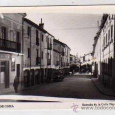 Postales: BURGO DE OSMA. ENTRADA DE LA CALLE MAYOR. SIN REVERSO. ACABADO FOTOGRÁFICO. SORIA. SIN CIRCULAR.. Lote 35324741