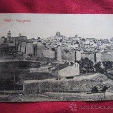Postales: AVILA - VISTA GENERAL. Lote 35588793