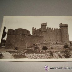 Postales: OLMILLOS DE SASAMON BURGOS CASTILLO POSTAL FOTOGRAFICA AÑOS 30 . Lote 35482132