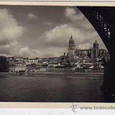 Postales: SALAMANCA LOTY 36303 VISTA PARCIAL Y CATEDRAL DESDE EL RIO TORMES. SIN CIRCULAR. FOTOGRÁFICA.. Lote 35517686