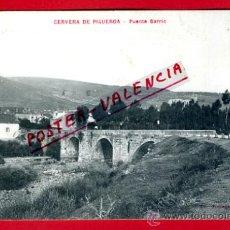 Postales: POSTAL CERVERA DE PISUERGA, PALENCIA, PUENTE BARRIO, P74817. Lote 35617363