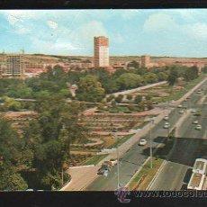 Cartes Postales: TARJETA POSTAL DE VALLADOLID - VISTA PARCIAL Y JARDINES DE LA ROSALEDA. Lote 35682047