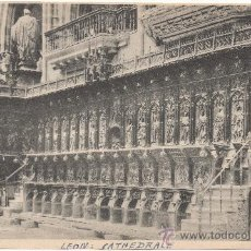 Postales: LEÓN.- CATEDRAL.. Lote 35802395