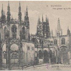 Postales: BURGOS.- VISTA GENERAL DE LA PUERTA DE PELLEJERÍA.. Lote 35803339